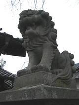 松本神社狛犬右2