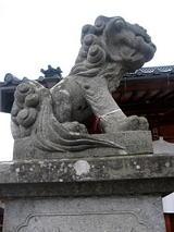 松本神社狛犬左1