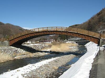 奈良井木曽の大橋1