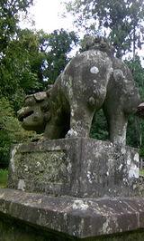 中生保内神社の狛犬4