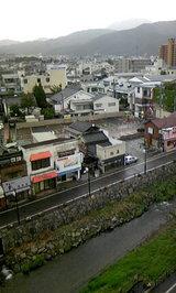 松本市の朝