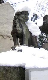 桜山神社狛犬2