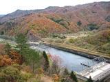 ダムの下1