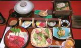 ホテル山翠の夕食1