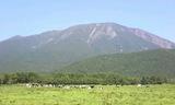 相ノ沢牧場から岩手山2