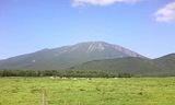 相ノ沢牧場から岩手山