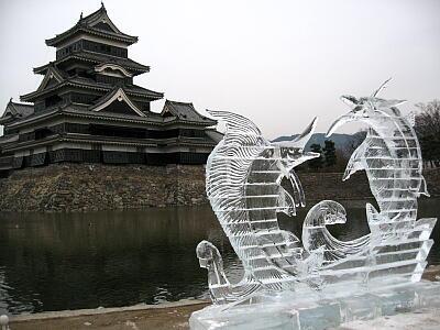 氷の彫刻4