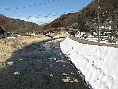 奈良井の川1