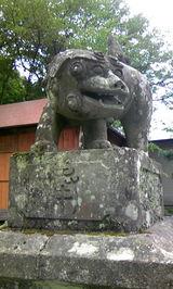 中生保内神社の狛犬6