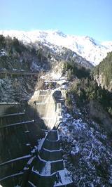 黒部ダムと立山1