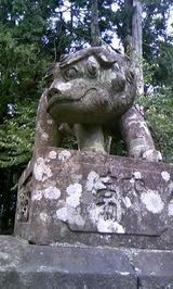 中生保内神社の狛犬5