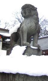 桜山神社狛犬1