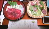 ホテル山翠の夕食2