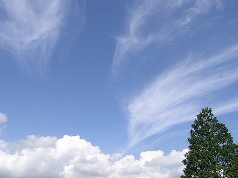 921空と雲