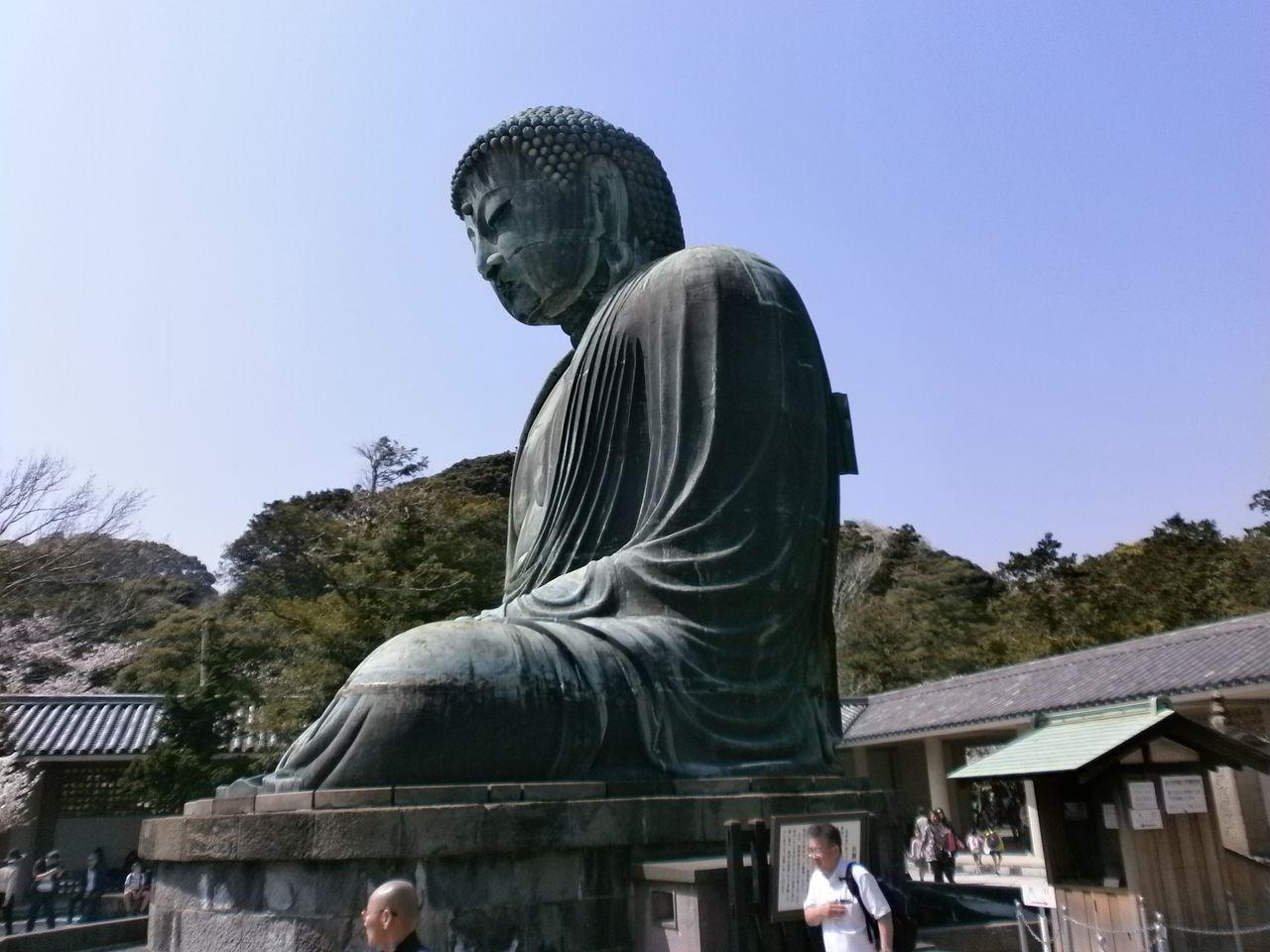 鎌倉大仏 高徳院 と 長谷寺 : 万...