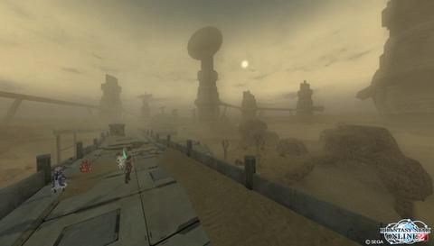砂に埋まる世界