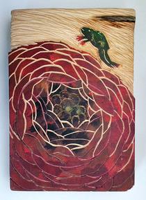 木彫1105ラナンキュラス