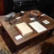 上野英信の坑口 展示