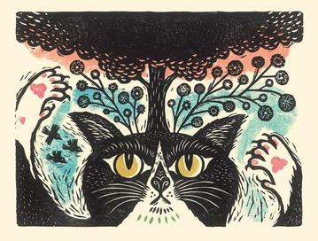 猫ぞろ原画展01*京都・めばえ