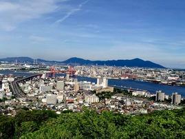 高塔山からの景色