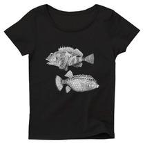 """康生""""魚""""Tシャツ"""