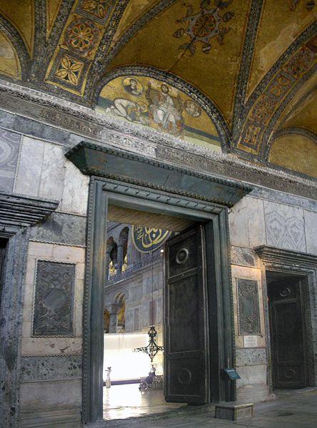 444px-Imperial_Gate_Hagia_Sophia_2007a