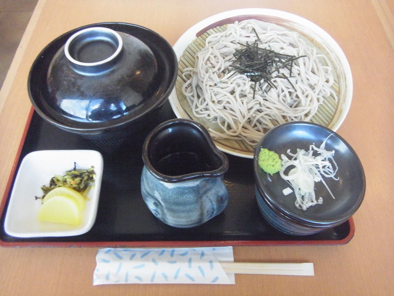 所沢 - 酒処そば 信濃 「かつ丼セット ¥1050、そば増量(一人前) +¥100(各税込)」