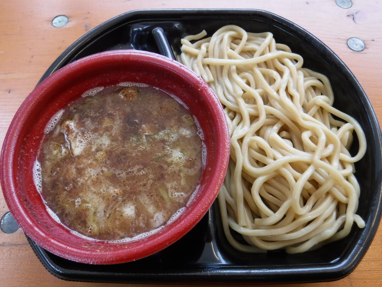 [大つけ麺博] - くり山 「つけめん ¥500→¥480(セブンチケット前売券使用・税込)」