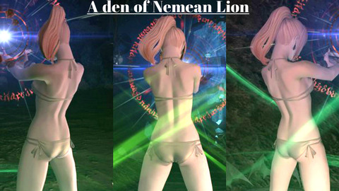 【R18】Nemeanの徒然日記 水着で学者モーションギャラリー