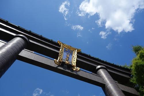 富岡八幡宮鳥居