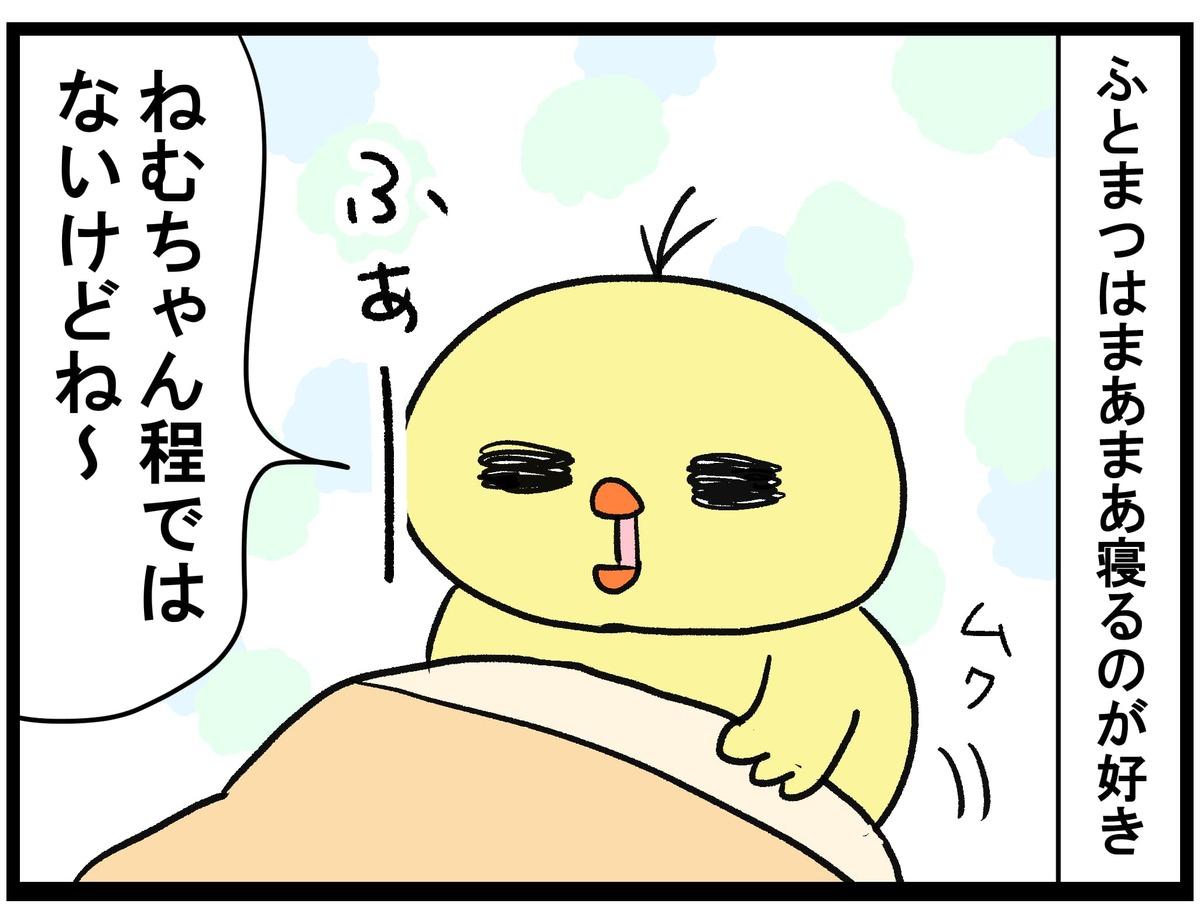 寝るのが結構好きなふとまつ