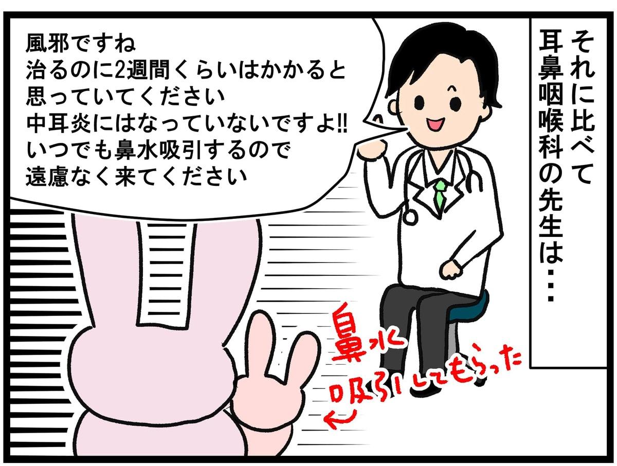 耳鼻咽喉科の先生。