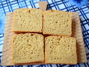 ヒトツブコムギ アインコーン小麦 einkorn 100%のパン2