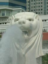 シンガポール:マーライオン