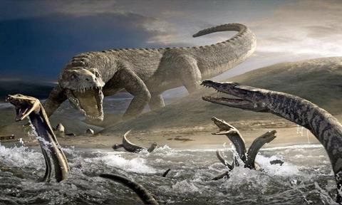 2億年前の恐竜「オラオラwww糞雑魚生物ども死ねやwwwwワイらがこの星のキングや!!」