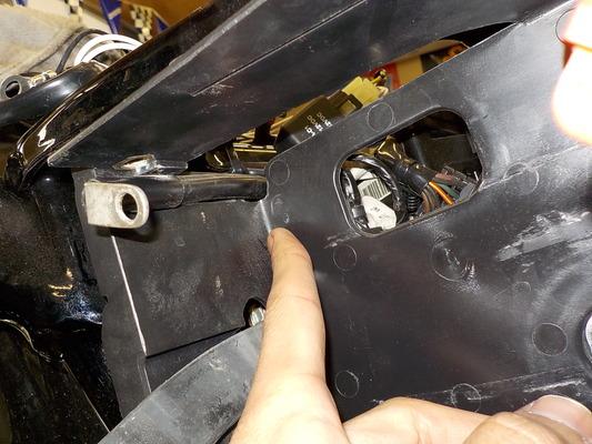09FXDCスポットランプ、LEDイルミ取り付け4