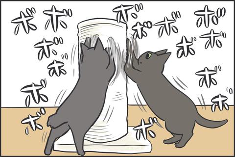 猫の爪研ぎ