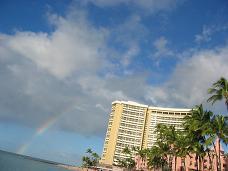 ハワイ虹3