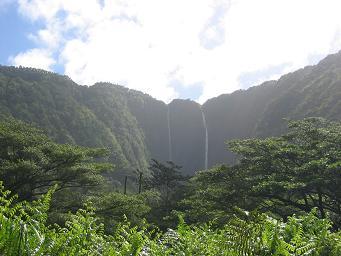 ハワイワイメア渓谷