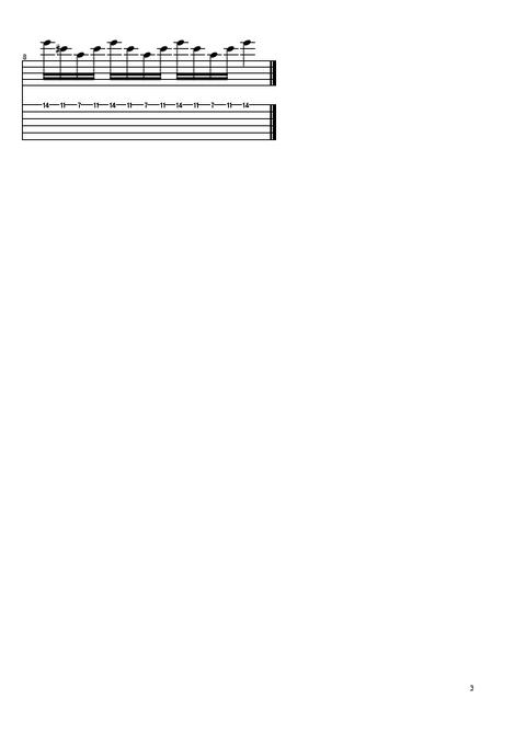 4和音スキッピングタッピング (3)