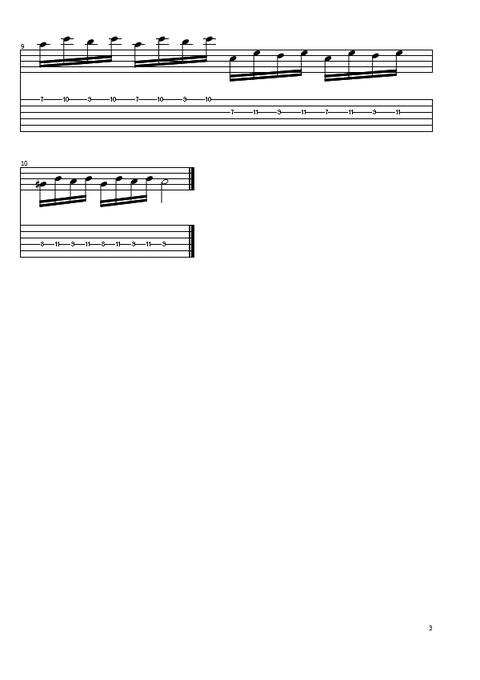 1,3弦すっきっピング3