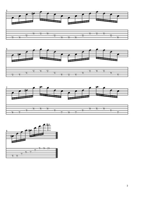 3弦4和音スウィープ2
