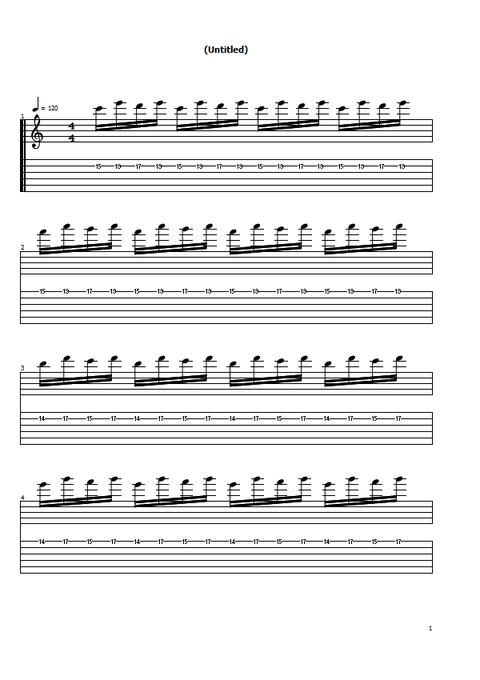 速弾き練習2