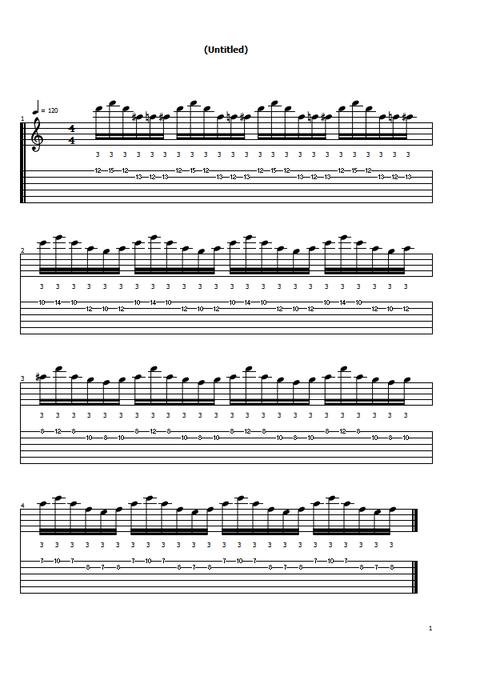 2弦オシャレ