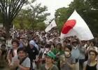 「韓流やめろ」コールでお台場騒然 フジ批判デモに主催者発表2500人