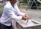 公園の水道を破壊する動画がYouTubeに …犯人、けいおんファン名乗る