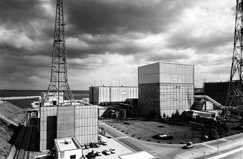 福島第1原子力発電所1971年
