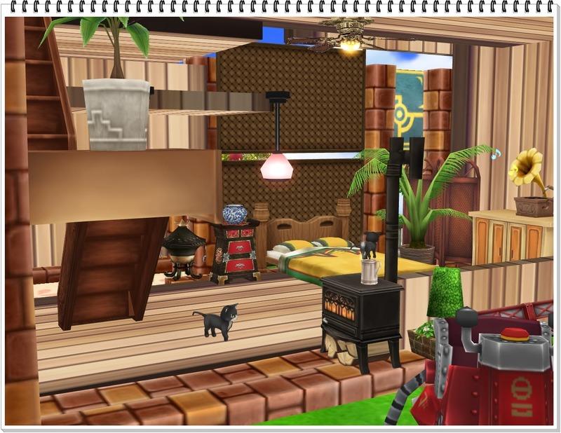 TashaTudorさんのお庭-一階