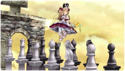 チェスの柱