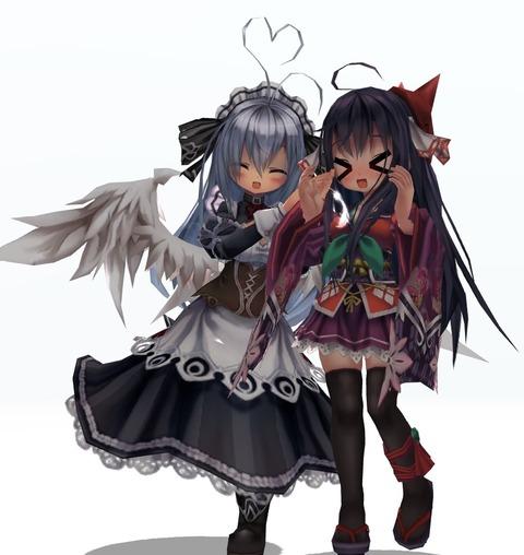 清姫・キリエ 回転2